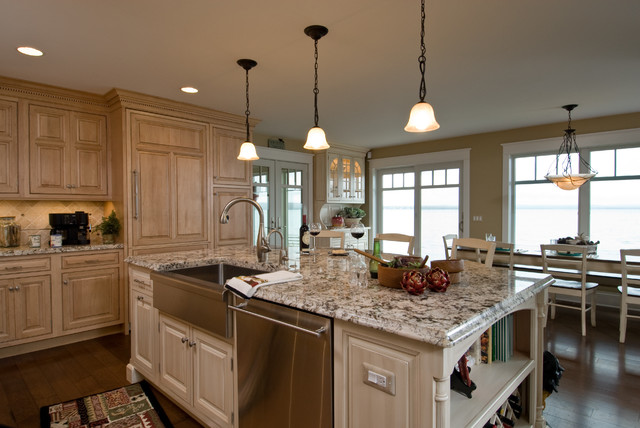 Lakeside Getaway Traditional Kitchen Other Metro By Designs By Dawn A