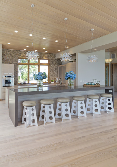 Lakeside Kitchen Modern Kitchen Minneapolis By Lucy Interior Design