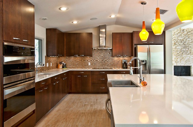 Lakeview Remodel modern kitchen