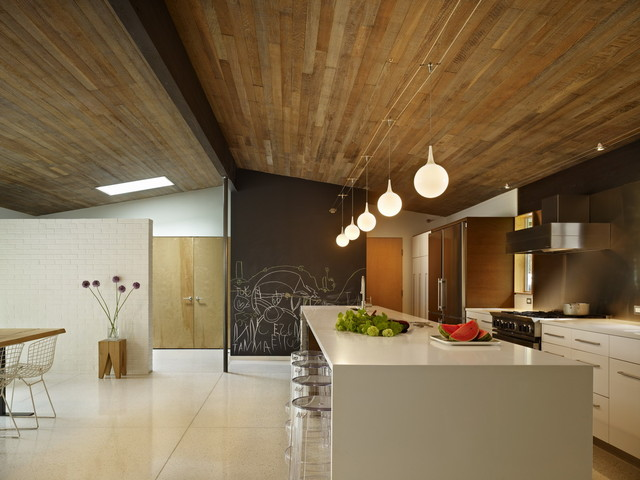 Lakewood Mid-Century midcentury-kitchen