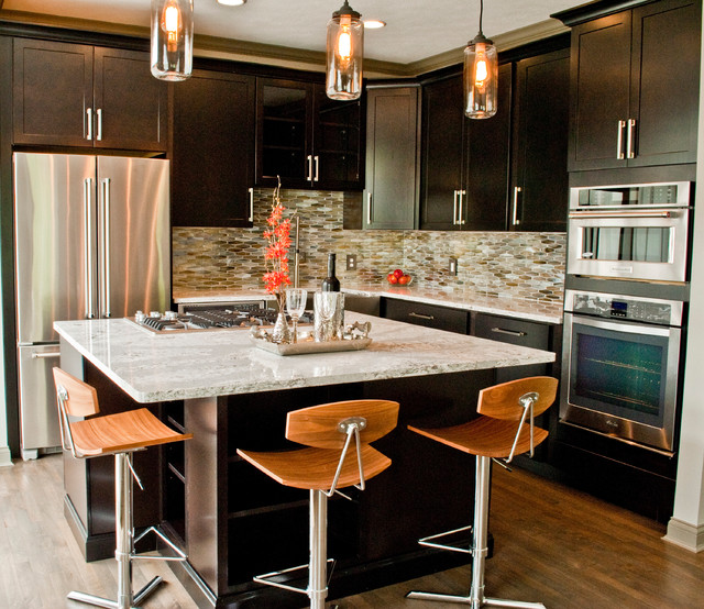 Lakey Kitchen Contemporary Indianapolis By
