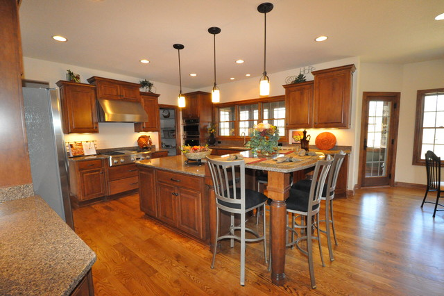 Lancaster a traditional kitchen milwaukee by for F kitchen lancaster