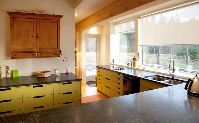 Lancaster Net Zero Home modern-kitchen