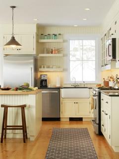 Landmark Meadow Farmhouse Traditional Kitchen