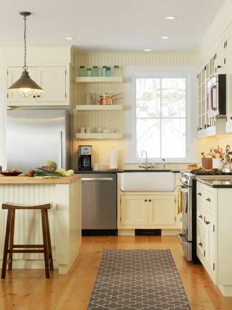 Landmark Meadow Farmhouse Traditional Kitchen