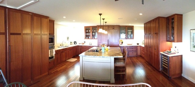 Lanikai sapele craftsman kitchen other metro by for Angela bonfante kitchen designs