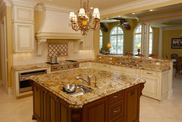 Lapidus Gold Granite Countertops