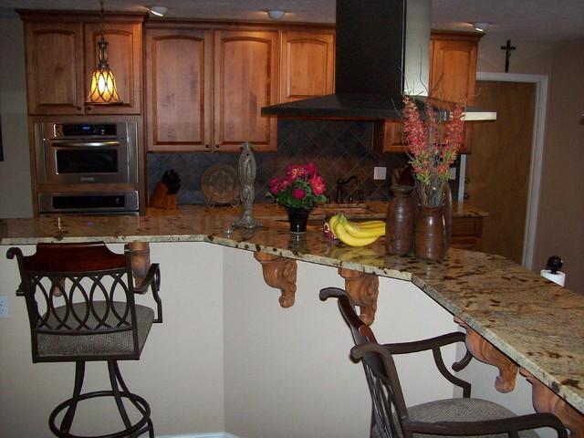 Lapidus Granite Kitchen rustika-kuhnya
