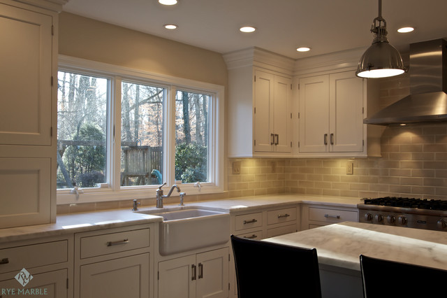 Larchmont Residence traditional-kitchen