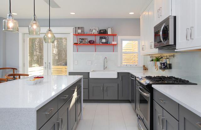 Larchwood Avenue Project - Transitional - Kitchen - Philadelphia ...