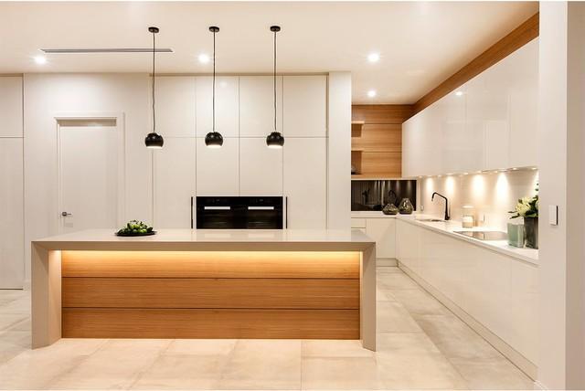 Lares Homes California House Modern Kitchen Adelaide
