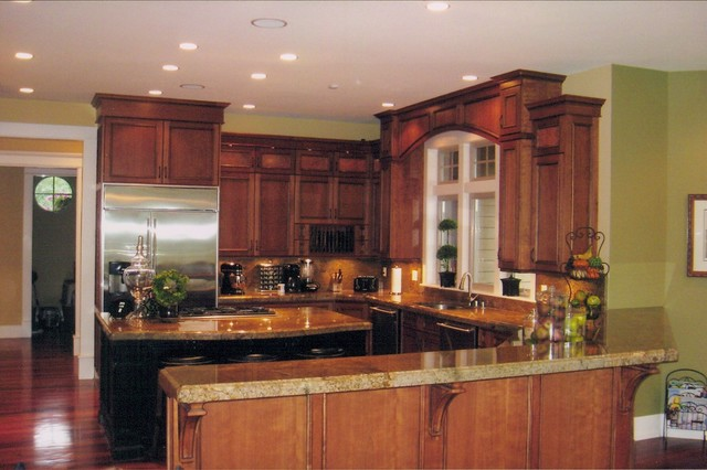 Golf Course Home Traditional Kitchen Seattle By Michelle Yorke Interior Design Llc