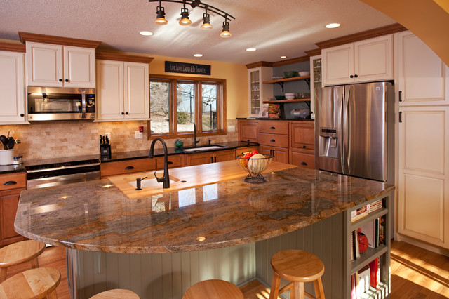 Medium image of large apple valley kitchen traditional kitchen