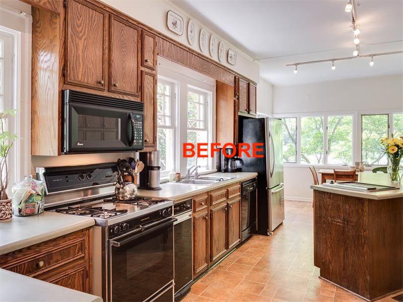 Inspiration for a craftsman kitchen remodel in Atlanta