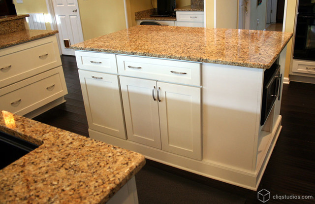 Cliqstudios Kitchen Cabinet Installation Guide Chapter: Large Mission Style White Kitchen