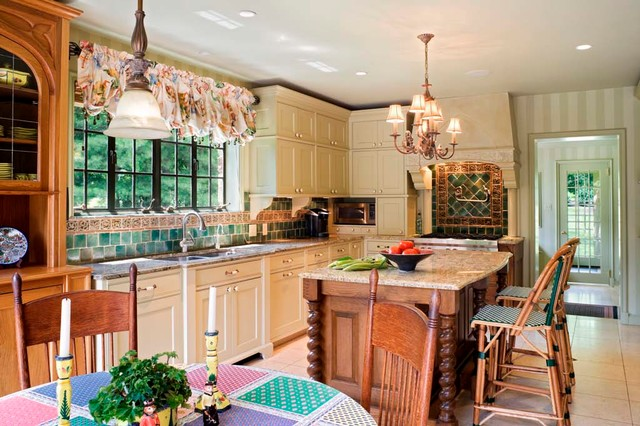Large Renovation traditional-kitchen