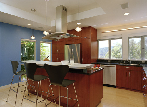 Pictures Please Island Peninsula With Range Hood And