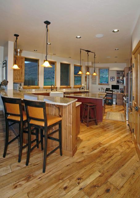 Las Vistas Enclave - Modern Santa Fe Style - Singlertree mediterranean-kitchen