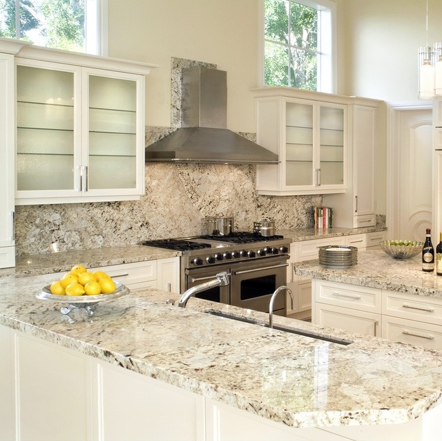 ... Granite - Traditional - Kitchen - miami - by Marble of the World