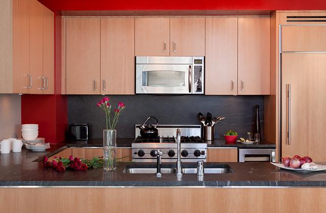 Laura mannes design modern kitchen new york by for Colorado kitchen designs llc