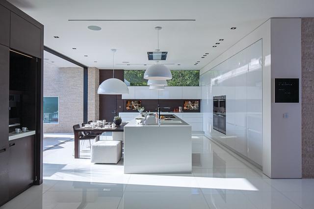 Laurel Way contemporary-kitchen