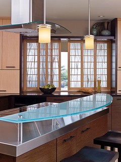 Laurelhurst Kitchen by Gaspars Construction asian kitchen