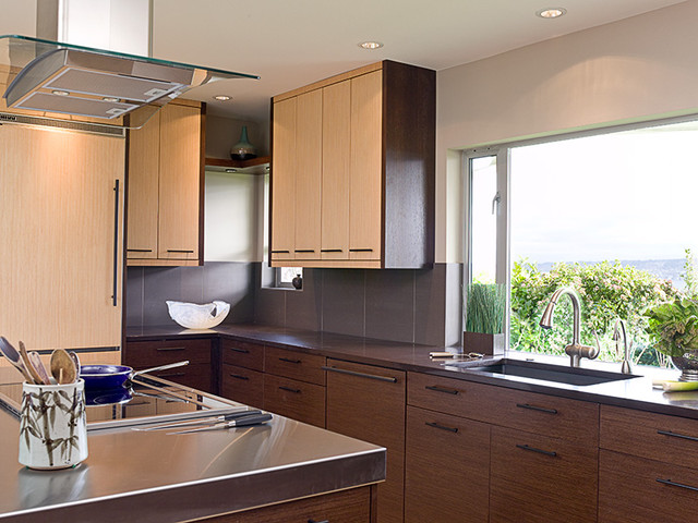 Laurelhurst Kitchen by Gaspar's Construction asian-kitchen