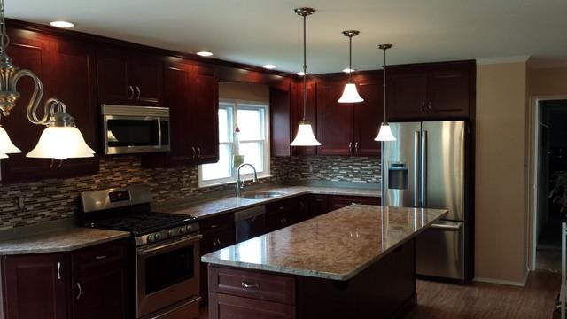 lawrenceville kitchen design by jason cancel - Moderno - Cocina ...