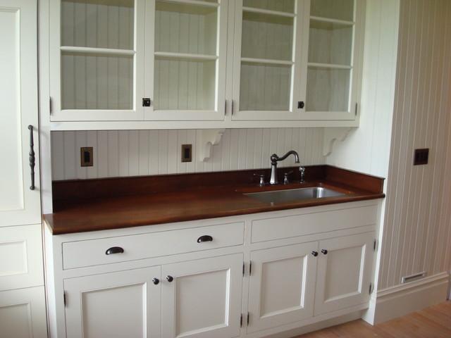 LB Historic Restoration - Traditional - Kitchen - providence - by Williams Design Associates