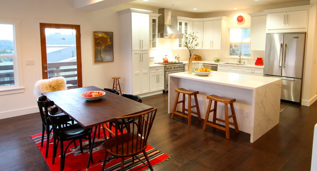 Le Gray Ave. eclectic-kitchen