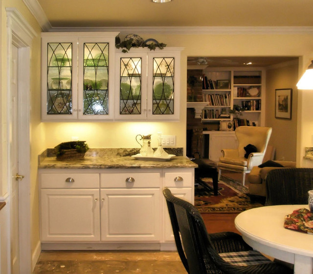Kitchen Cupboards With Glass Inserts