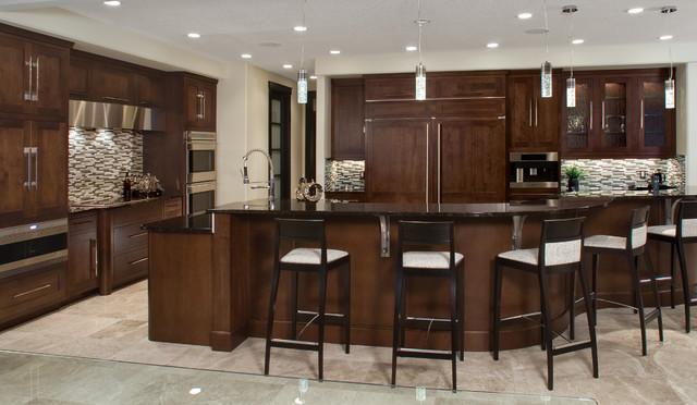 Leading Edge Glamour - Contemporary - Kitchen - edmonton ... - photo#25