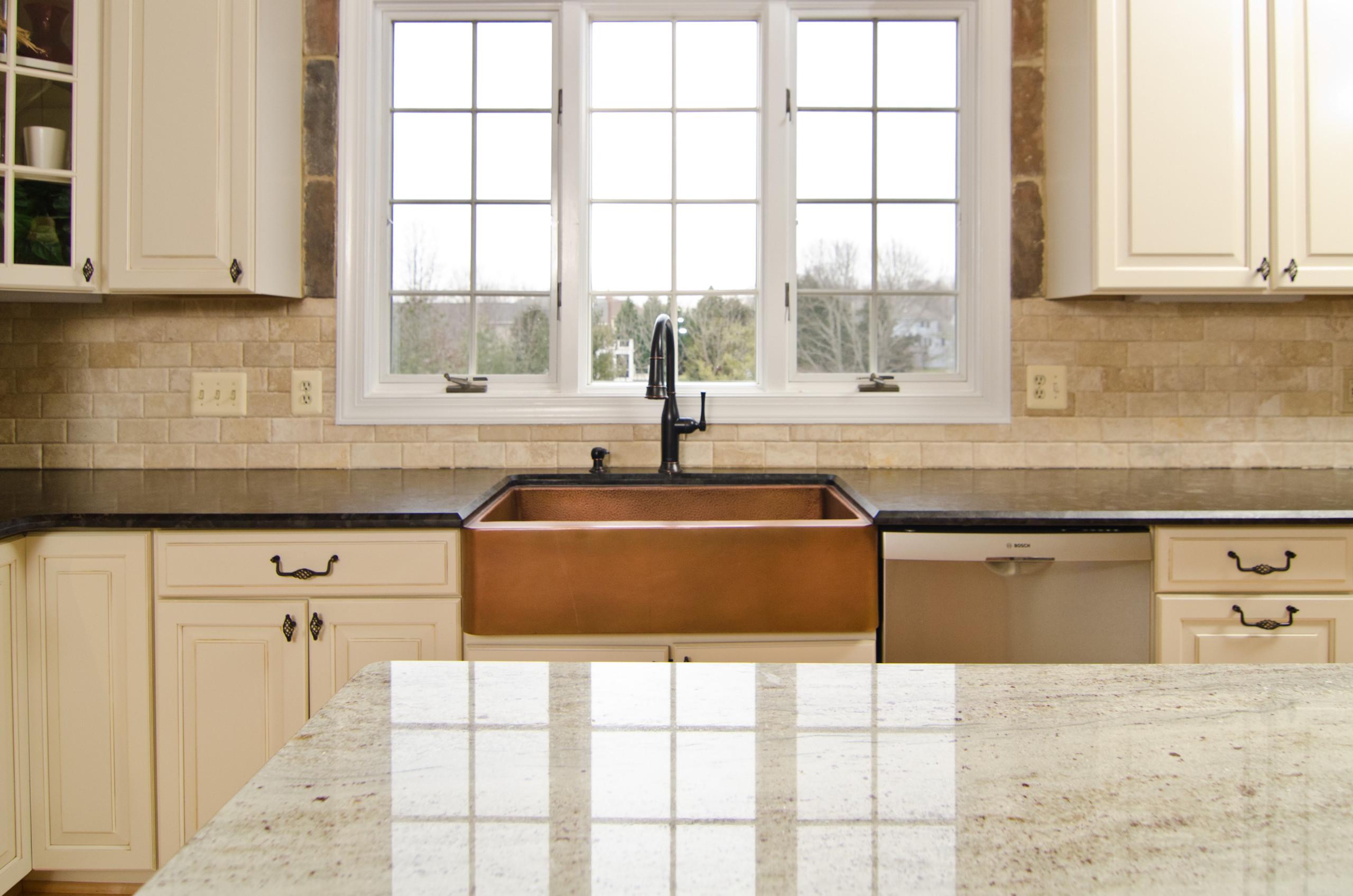 Brown Granite Backsplash Houzz