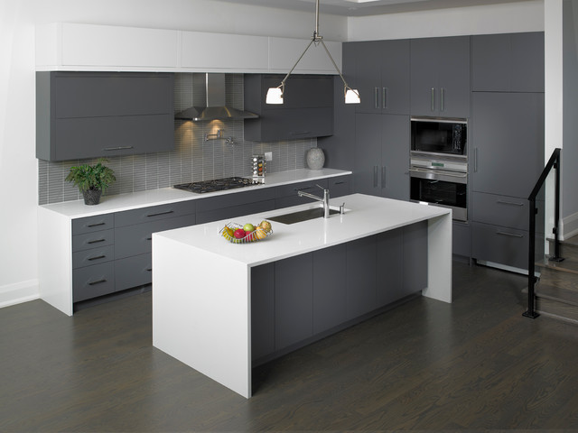 Lebury Custom Home - Moderno - Cocina - Toronto - de Olympic Kitchens