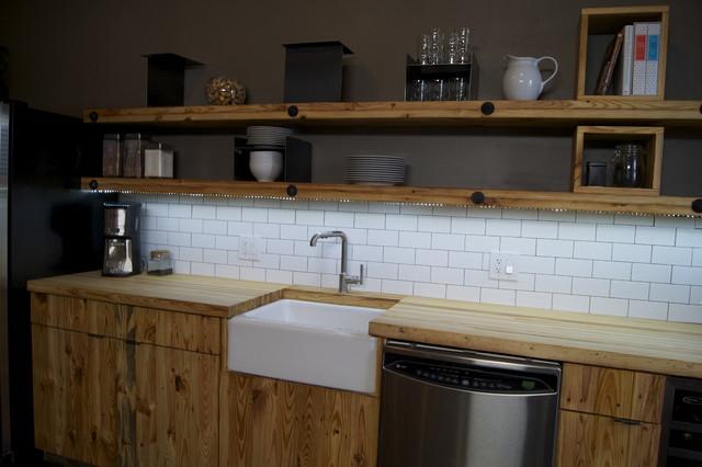 LED Light Strip Under Kitchen Shelves - Contemporary - Kitchen - by EnvironmentalLights.com
