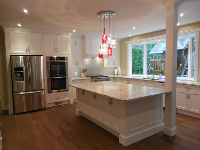 Ledgeview residence transitional-kitchen