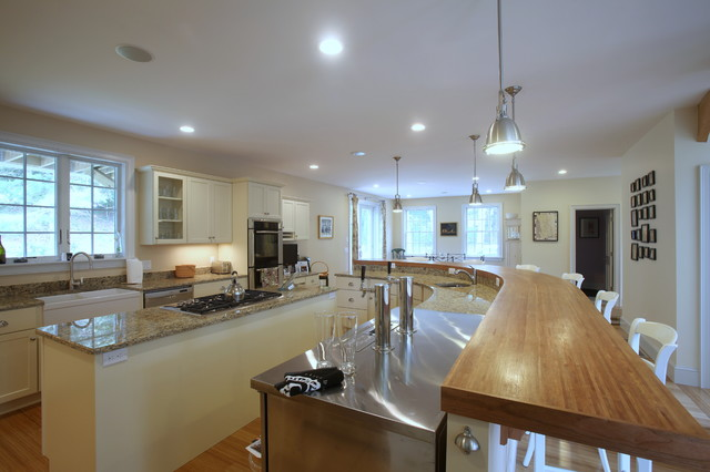 LEED Green Home: Orleans traditional-kitchen