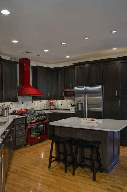 Leesburg Contemporary Kitchen Island Seating