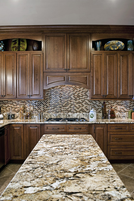 Leesburg Traditional Kitchen - Granite - Traditional - Kitchen - other ...