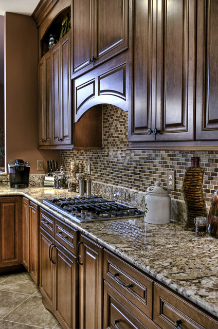 Leesburg Traditional Kitchen - Range traditional kitchen