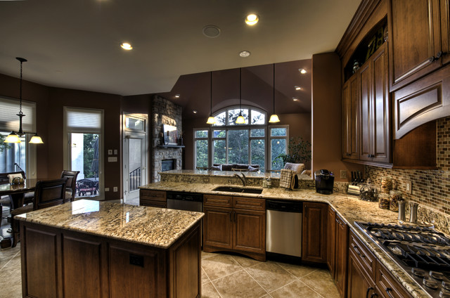 Leesburg Traditional Kitchen - View to Windows traditional kitchen