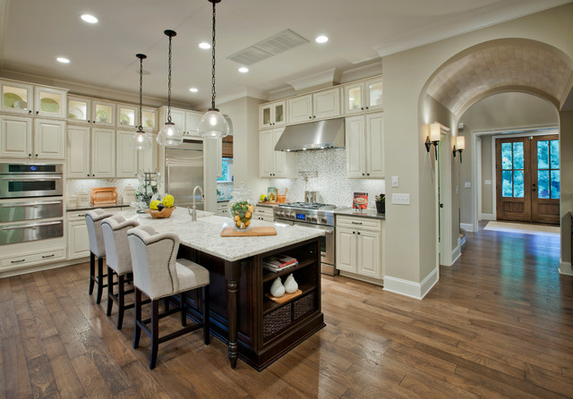Leesville Crest by Ashton Woods traditional-kitchen