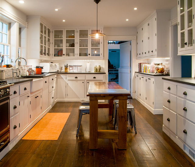 Left Bank Country House Farmhouse Kitchen