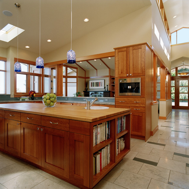 Leftwich Residence contemporary-kitchen