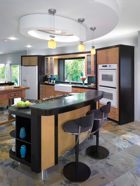 Leicester Court Residence eclectic-kitchen