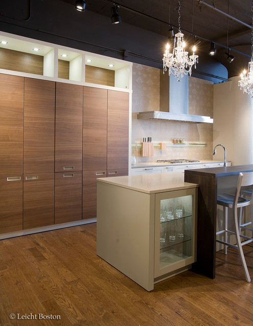 Leicht boston showroom contemporary kitchen other for Bathroom showrooms boston area