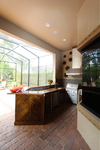lely outdoor kitchen transitional kitchen miami by