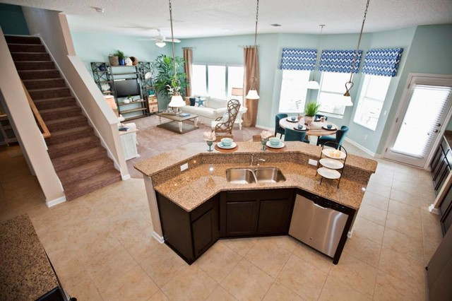 Lennar in Lakeside at Town Center - Transitional - Kitchen ...