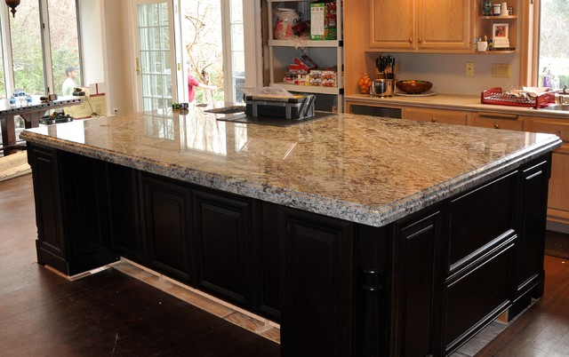 kitchen islands with granite countertops lennon granite kitchen island traditional kitchen 8308