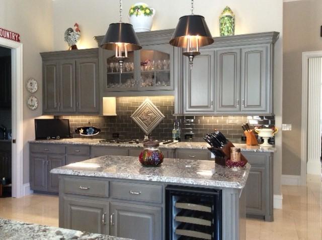 Fresh Lennon granite - Traditional - Kitchen - Dallas - by Levantina USA HK38